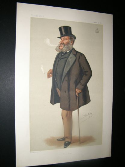 Vanity Fair Print 1877 Lord Dorchester, Turf | Albion Prints